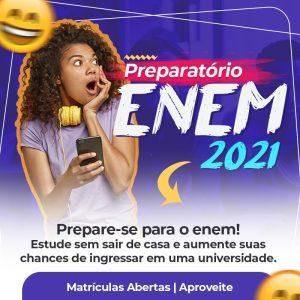 Curso Preparatório Enem 2021 Online